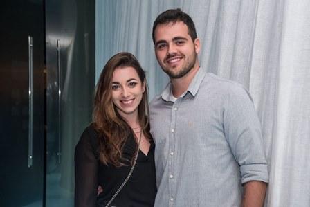 Ana Carolina Weitzel e Eduardo Moreira