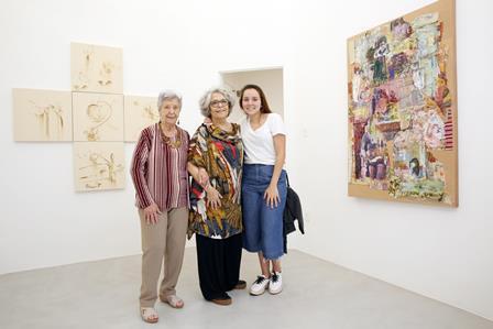 Angela Vasconcellos , Nathalia e Maria Helena