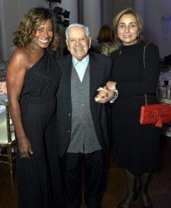 Glória Maria , Francisco Horta e  Mirian Gelli