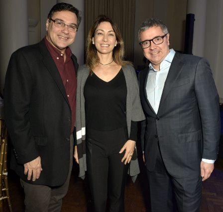 Eduardo Gussen , Gabriella Serra e Fabio Barbirato