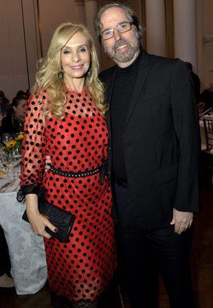 O casal Regina e  Sergio Abramoff