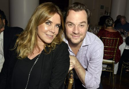 Lilibeth Monteiro de Carvalho e seu filho Arnon Affonso Collor de Mello