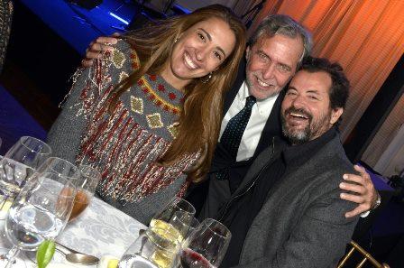 Paula Marinho , Dida Mader e Miguel Pinto Guimarães