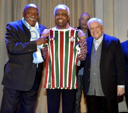 Paulo Cesar Caju ,  Gilberto Gil  e Francisco Horta