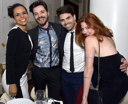 Lene de Victor , Tiago Parente , Rodrigo Cirne e Giovanna Lage