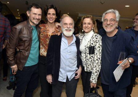 Henrique Diaz , Mariana Lima ,   Renato Borghi , Marieta Severo e Aderbal Freire  - Teatro MOLIÈRE