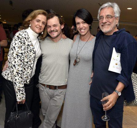 Marieta Severo , Matheus Nachtergaele , Bel Kutner e Aderbal Freire