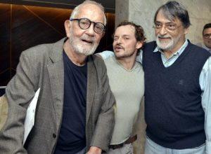 Paulo José ,  Matheus Nachtergaele e Walter Lima Jr. - Teatro MOLIÈRE