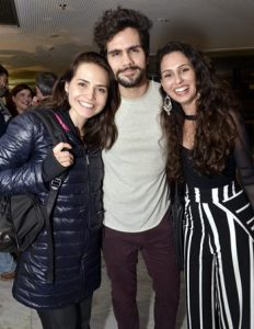 Leticia Colin , Ciro Sales e Raissa Xavier