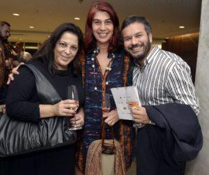 Adriana Monteiro , Rogéria Gomes  e Maurício Baduh