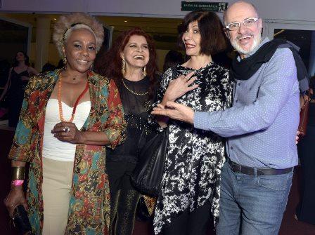 Dhu Moraes , Leiloca , Sandra Pêra e Marcos Caruso