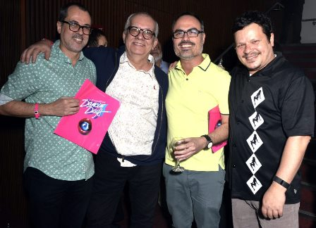 Paulo Severo , Artur Xexeo , Christovam Chevalier e Toni Platão