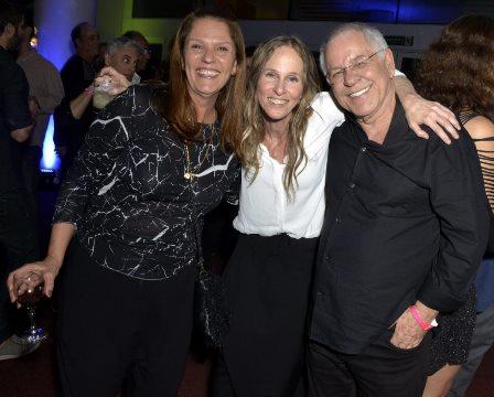 Patricia Andrade , Deborah Colker e Nelson Motta