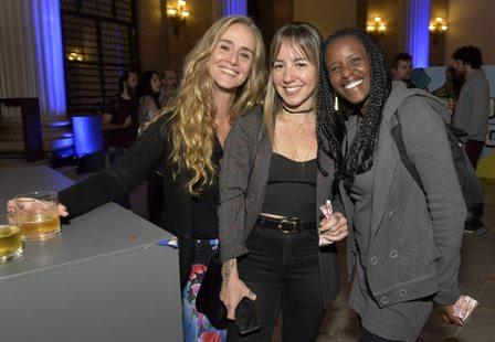 Camila  Aguiar , LetíciaMaia e Andrea Roxinha