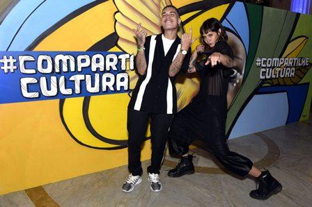 Stephan Peixoto e Beatriz Alvez