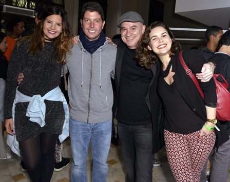 Marina Mandetta  , Maurício Pessoa , Marcello Lobato e Amanda Rodrigues