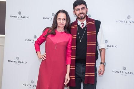 Denise Mauler e Pedro Lofaro