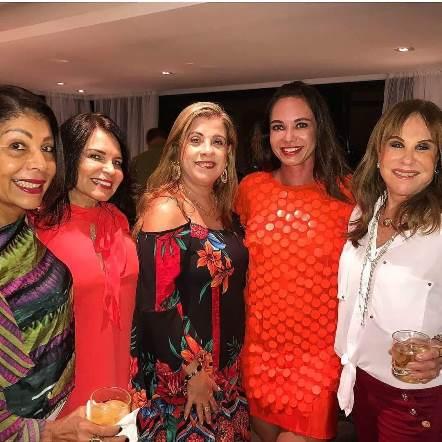 Dete Costa,Marlene Gondin, Cristina Prez, Kyoko Sangalo e Cecília Garrido