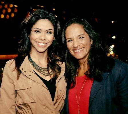 Duda Oliveira e Renata Palmier