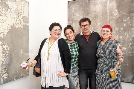 Emanuela Farias, Vanessa Matos, Mario Grisolli e Adriana Cataldo
