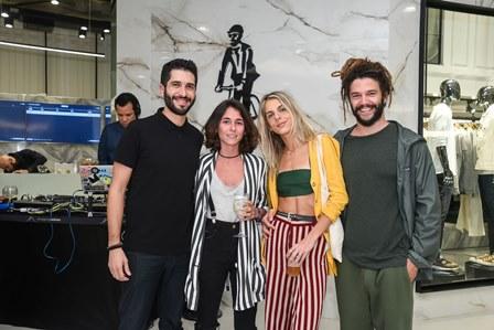Felpe Siqueira Bianca Lavalle  Rebeca Sellitti Andre Coelho