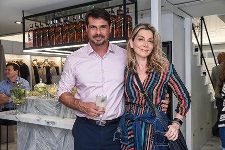 Henrique Baez e Renata Reis