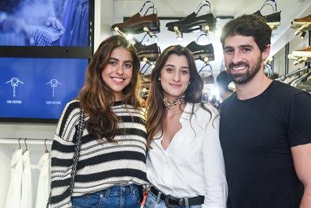 Isabela Goldfarb  Gabi Gelli e JC Lopes