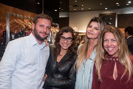 Leo Caserta Monica Souza Claudia Jatahy e Vanessinha Borges