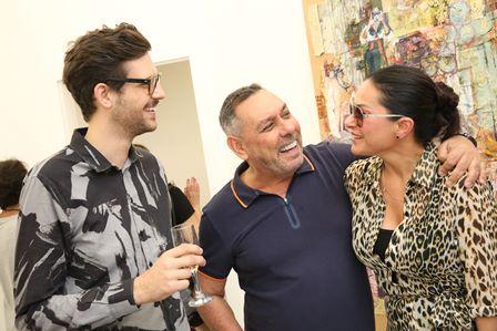 Luiz Zampar, Marcus Lontra Costa e Paula Klien