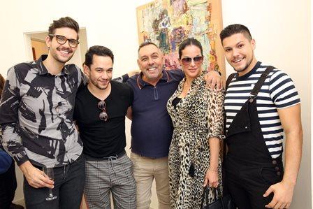Luiz Zampar, Vinicius Belo, Marcus Lontra Costa, Paula Klien e Paulo Buckman