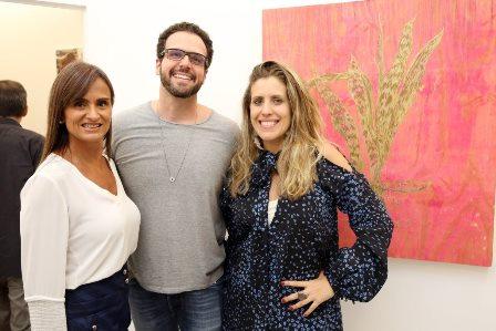 Marcia Eccheverria, Marcio Millman e Bruna Barros