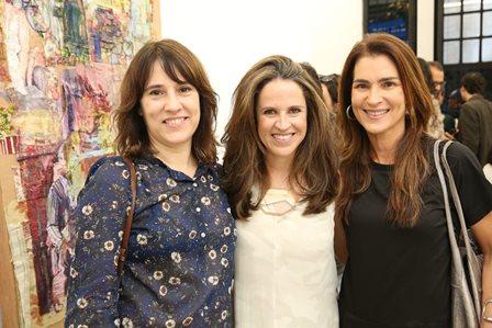 Maria Fernanda Lucena, Camila Tomé e Dani Vignolli