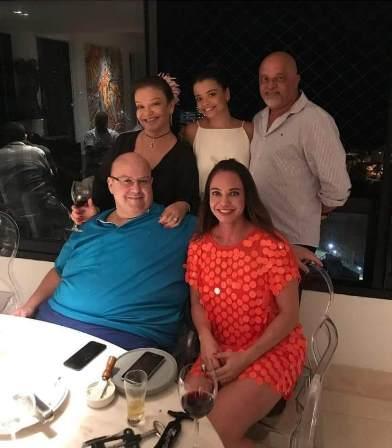 Mönica Sangalo, Camila e Paulinho Nunes, Jesus e Kyoko Sangalo