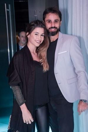 Pamela Azambuja e Bruno Maggio