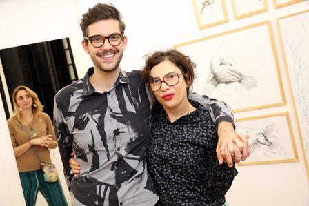 Patrizia D'angelo e Luiz Zampar