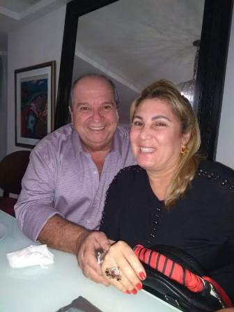 Sérgio Carvalho e Cristina Valente
