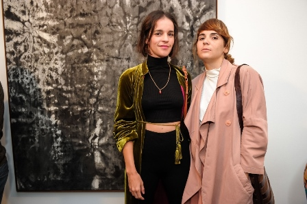 Verônica Pimentel e Monique Argalji