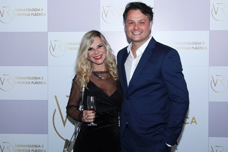 Miriam Freitas e Flavio Rezende