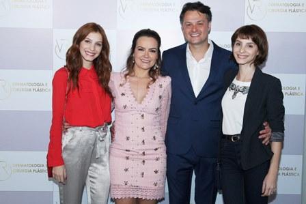 Michelle Batista, Aline Vieira, Flavio Rezende e Giselle Batista