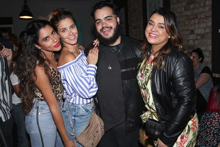 Marina Morena, Carolina Dieckmann, Francisco e Preta Gil
