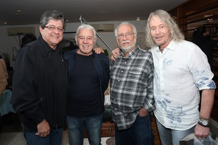 Carlos Alberto Chateaubriand,Carlos Lyra,Roberto menescal e Marcos Valle