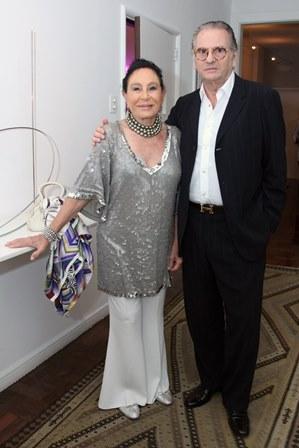 Miriam Gagliardi e João Manssur