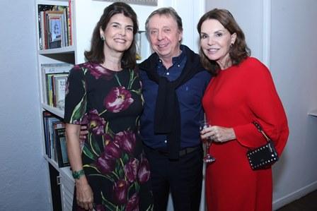 Viviane e Chico Grabowsky e Patricia Mayer
