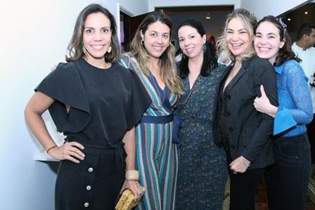 Babi Teixeira,Jacira Pinheiro,Bianca Da Hora,Marcia Muller e Manu Muller