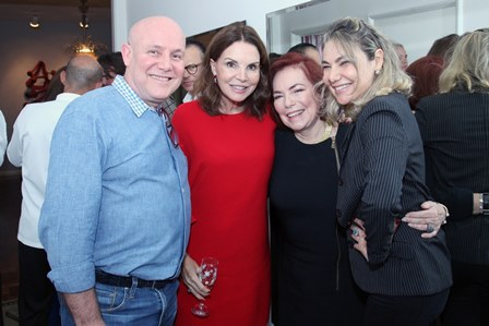 Paulo Muller,Patricia Mayer,Marise Muller e Marcia Muller