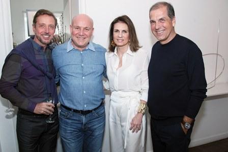 Nando Grabowsky,Paulo Muller,Paula e Luiz Carlos Nabuco
