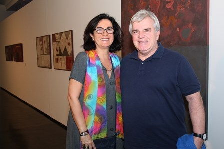 Denise Nunes e Gustavo Martins