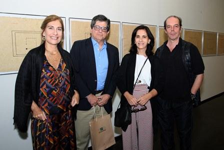 Silvia e Carlos Alberto Chateaubriand,Katia Mindlin Leite Barbosa e Marcos Bonisson