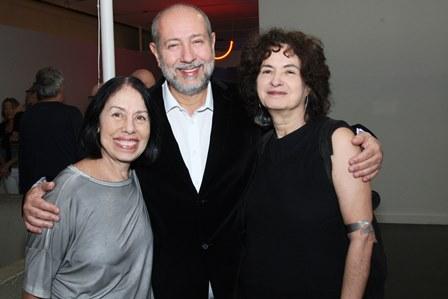 Iole de Freitas,Fernando Cocchiarale e Ana Linnemann