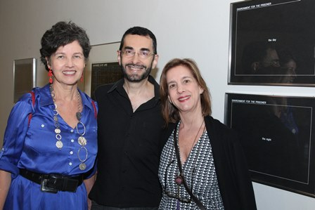 Claudia Noronha,Alexandre Murucci e Bia Pinheiro